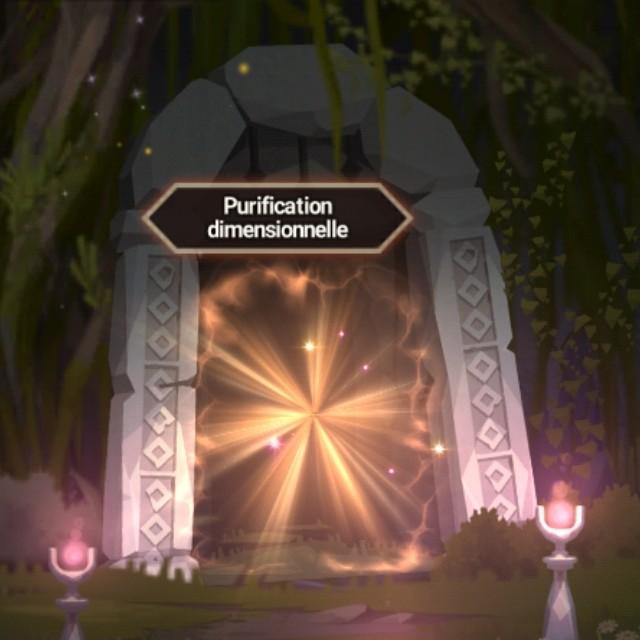 Purification dimensionnelle